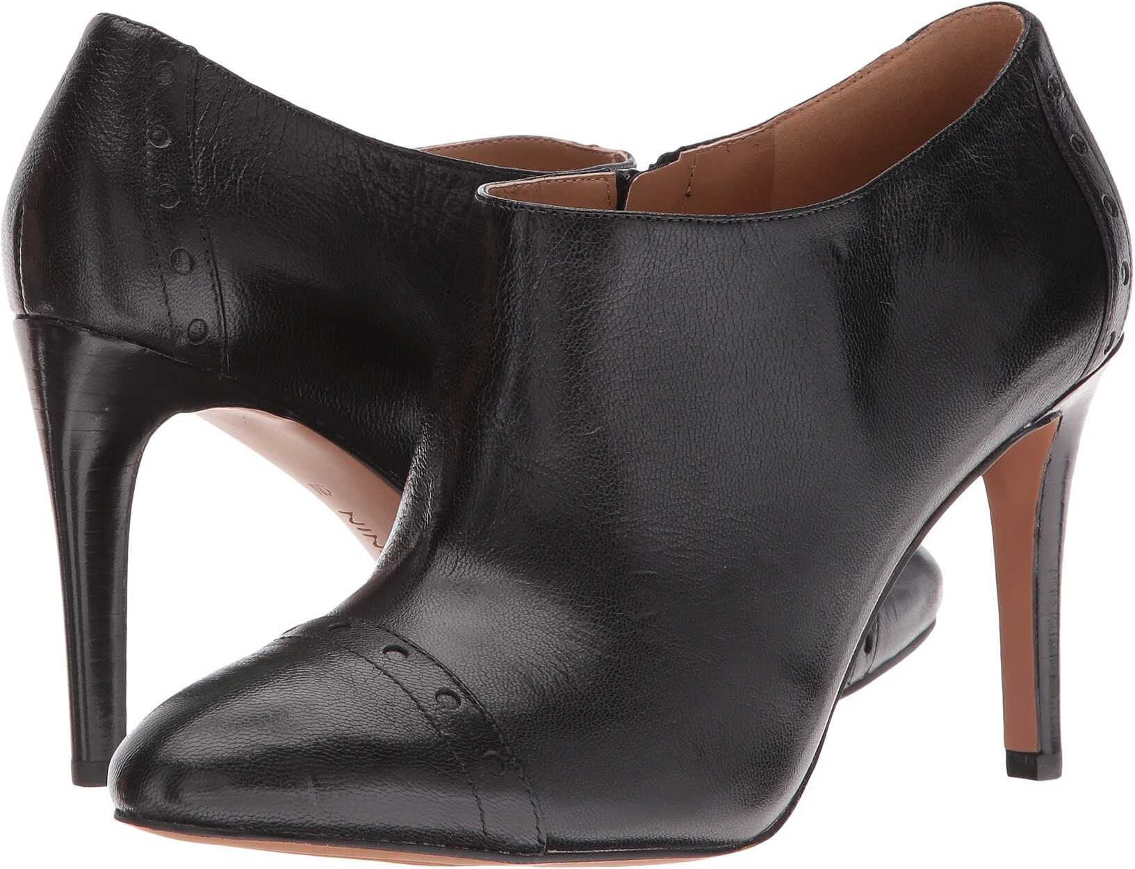 Nine West Phyllis Black Leather