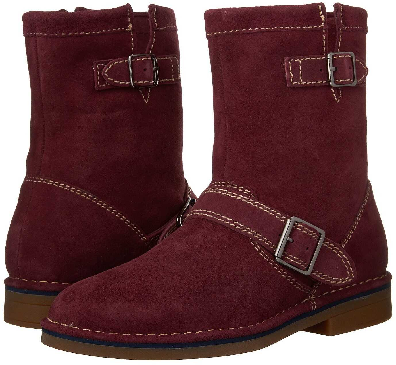 Hush Puppies Aydin Catelyn Wine Suede