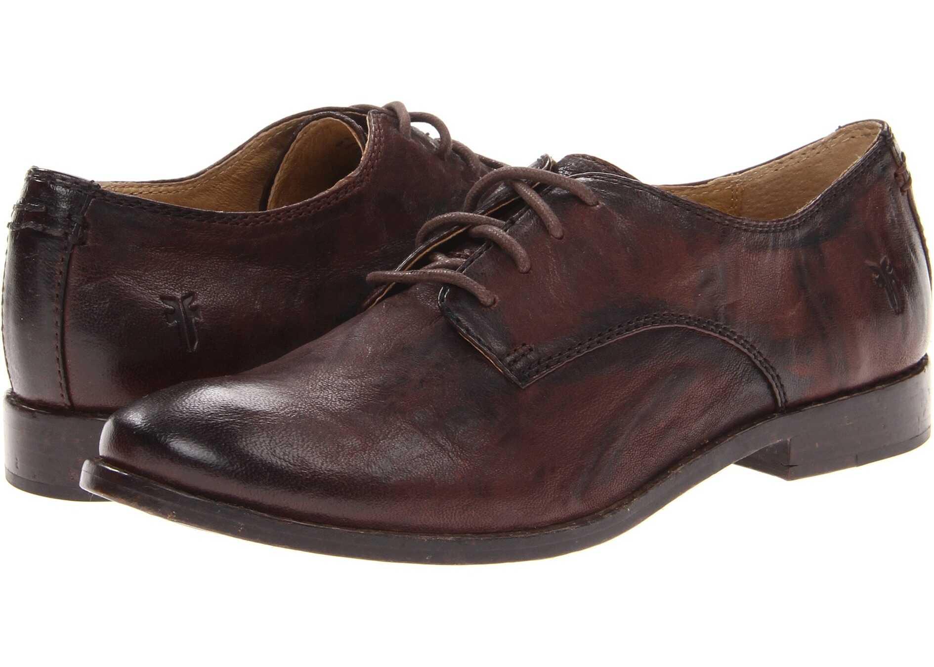Pantofi Oxford Femei Frye Anna Oxford Dark Brown A