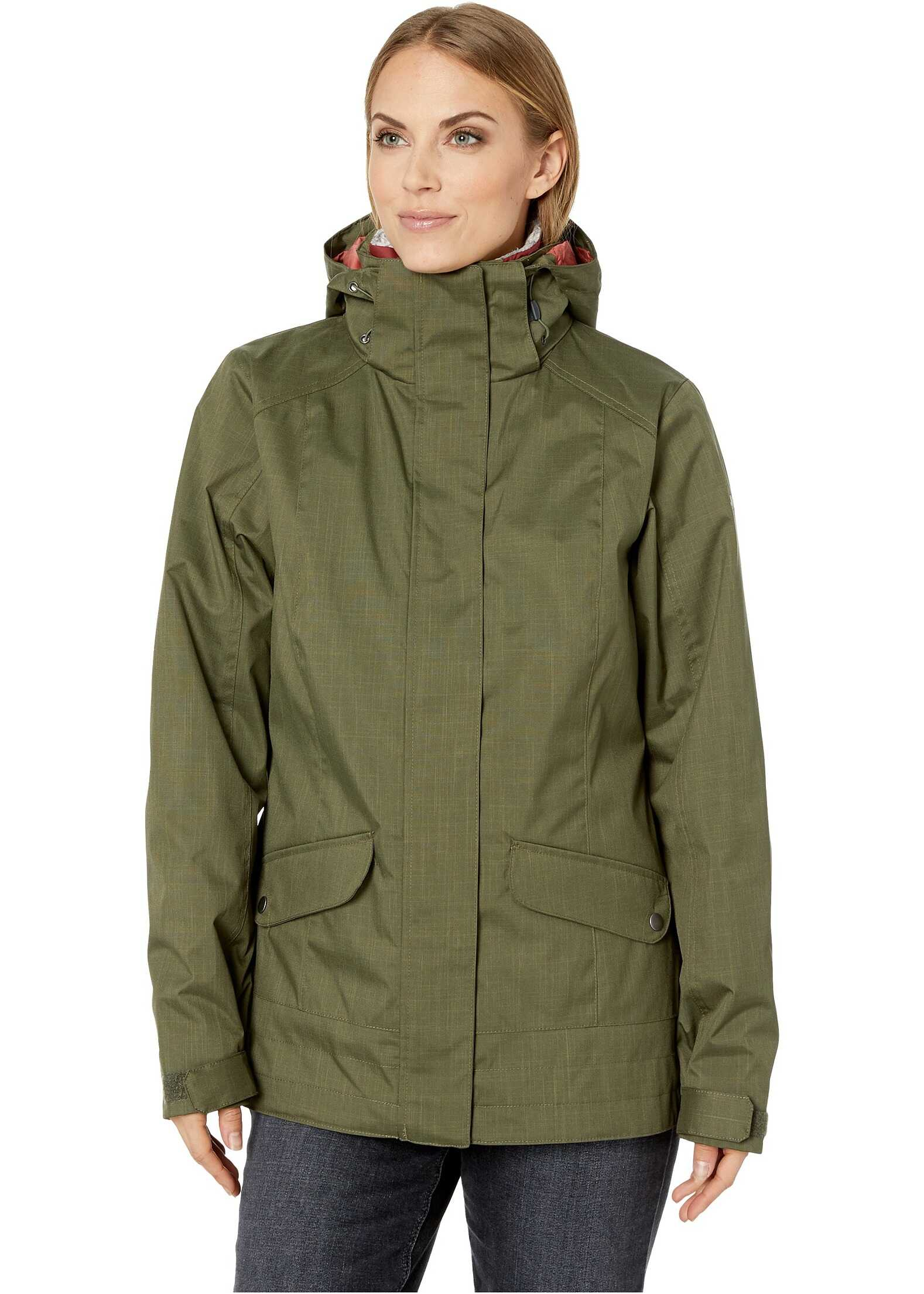Columbia Sleet to Street Interchange Jacket Nori
