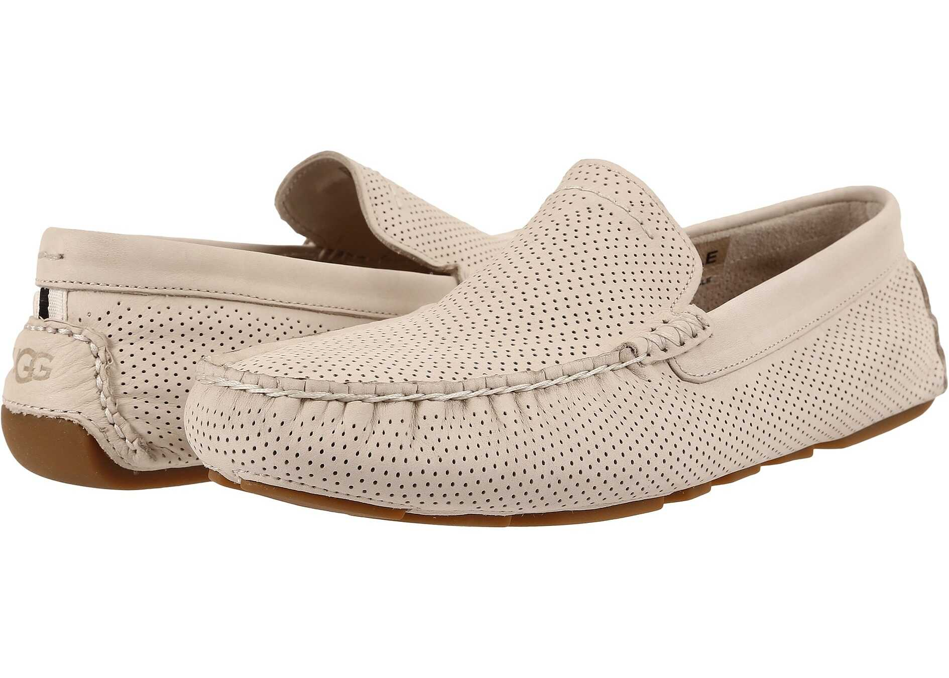 UGG Henrick Perforated White Nubuck