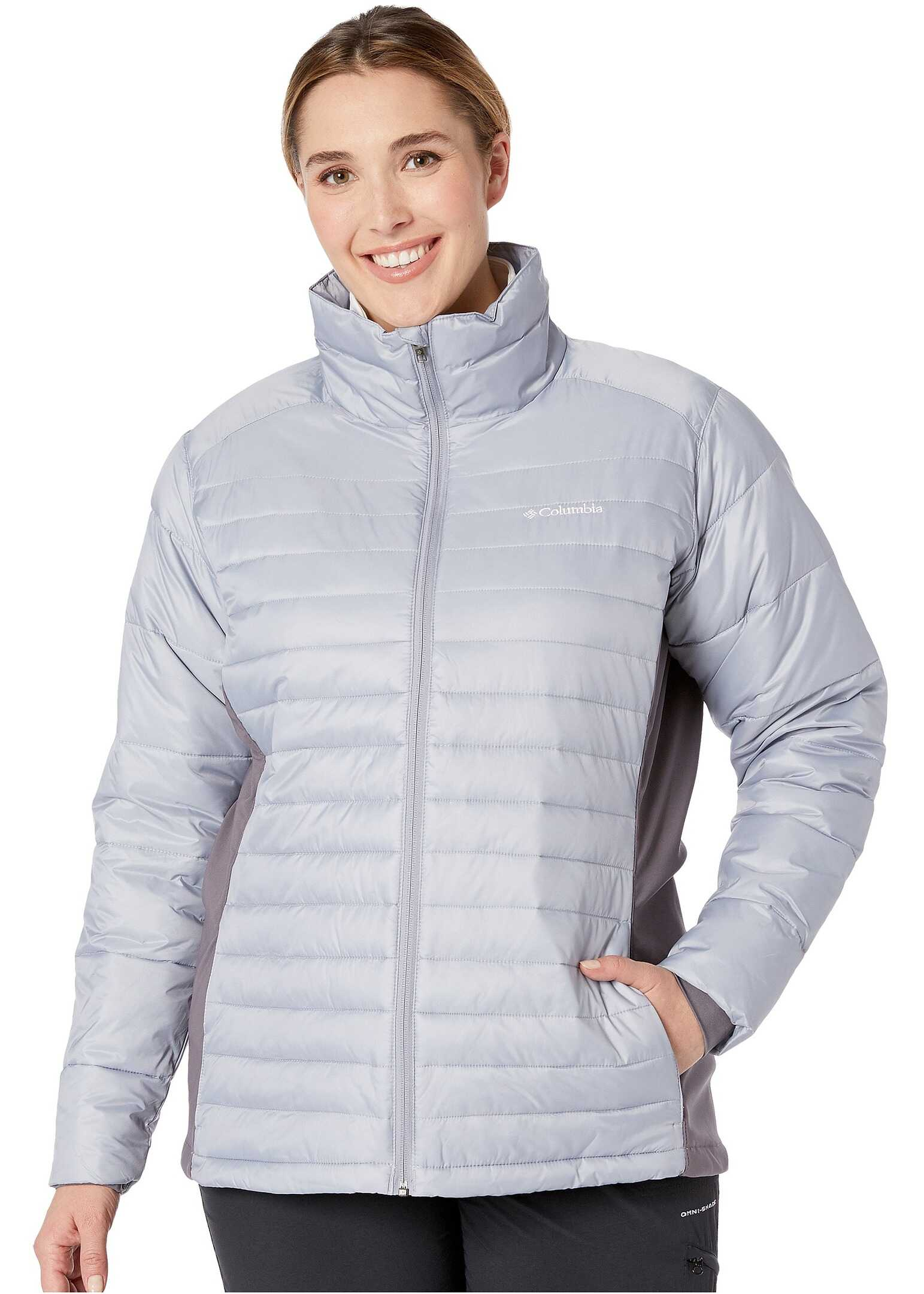 Columbia Plus Size Powder Pillow Hybrid Jacket Astral/Pulse