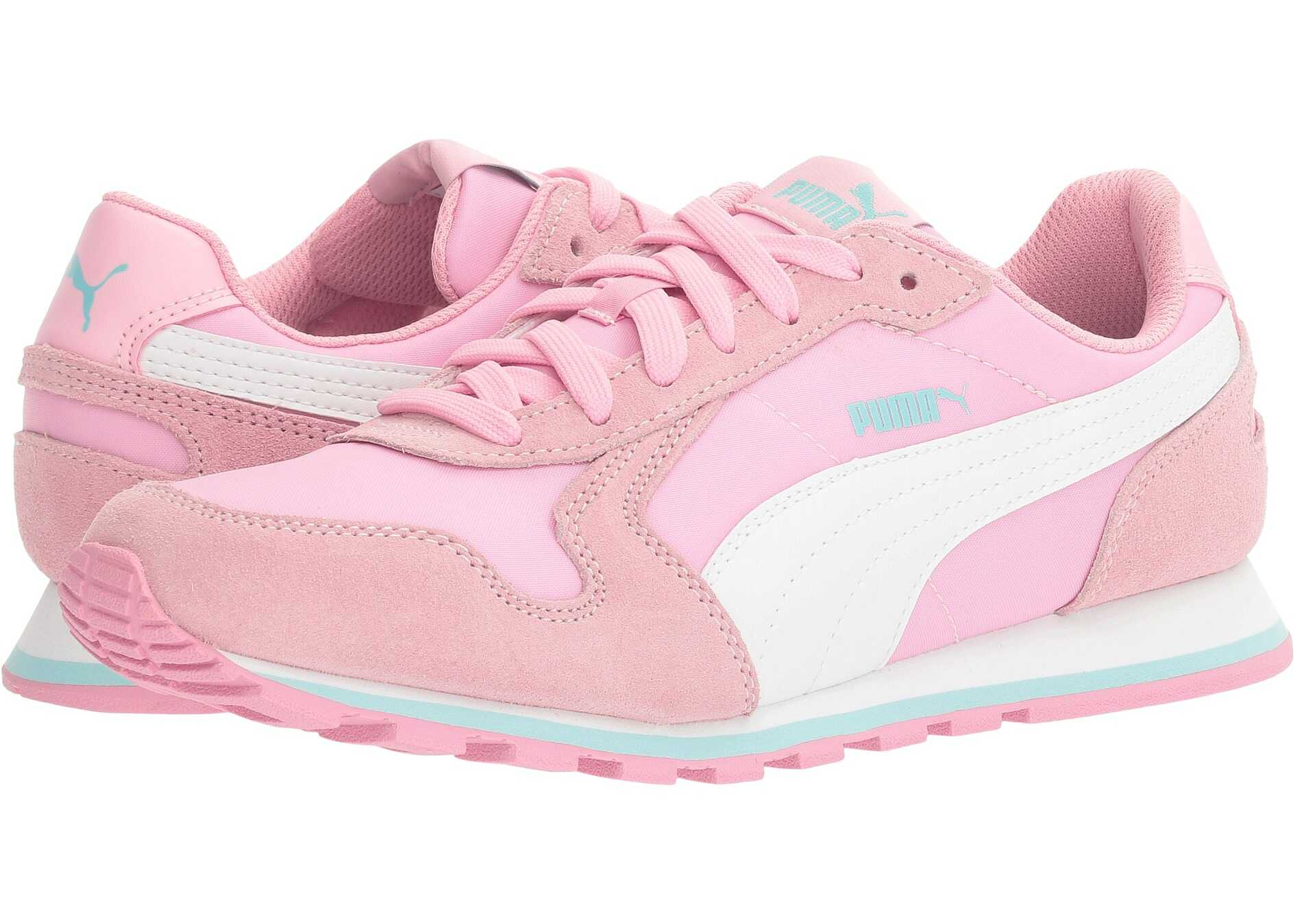 Puma Kids ST Runner NL Jr (Big Kid) Prism Pink/Puma White