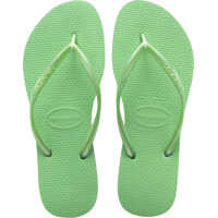 Slapi Slim Flip Flops In Light Green Femei