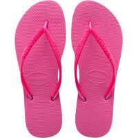 Slapi Slim Flip Flops In Pink Femei
