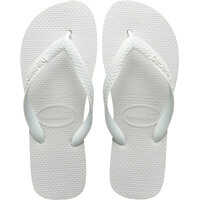 Slapi Top Unisex Flip Flops In White Barbati