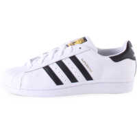 Tenisi & Adidasi Superstar J Kids Trainers In White Black Baieti