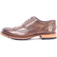 Pantofi Guri 8 Brogues In Brown Barbati