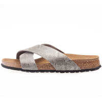Sandale Daytona Royal Python Sandals In Grey Femei