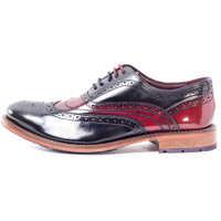 Pantofi Krelly 2 Brogues In Black Red Barbati