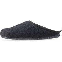 Slapi Wabi Slippers In Dark Grey Barbati