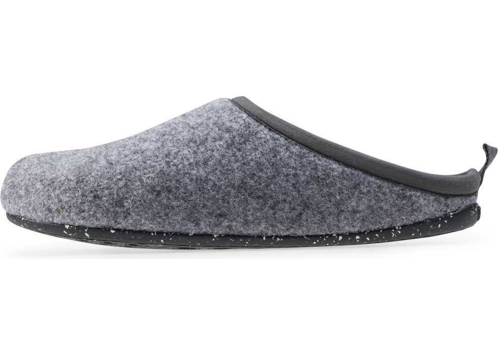 Camper Wabi Slippers in Grey Grey
