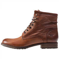 Ghete & Cizme High Top Boots In Chestnut Femei