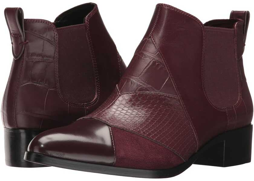 Botine Dama COACH Suffolk Patchwork