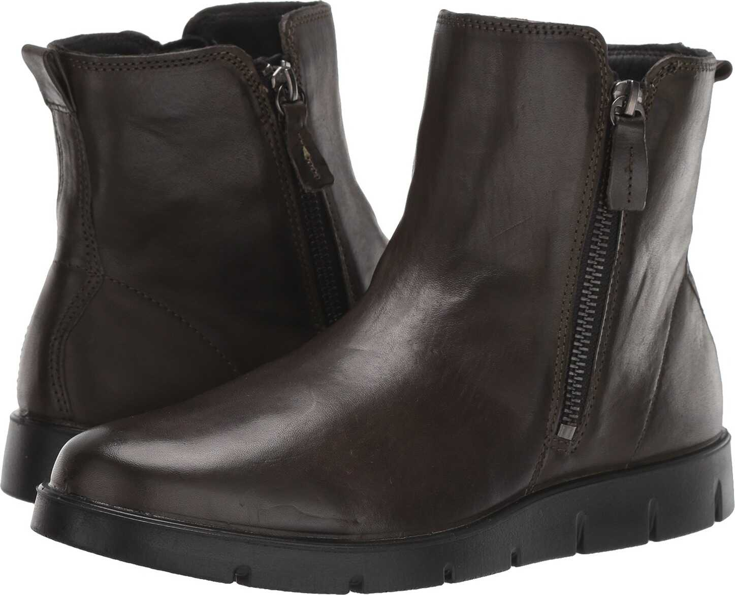 ECCO Bella Zip Boot Deep Forest Cow Leather