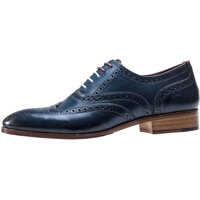 Pantofi Wister Oxford Brogues In Navy Barbati