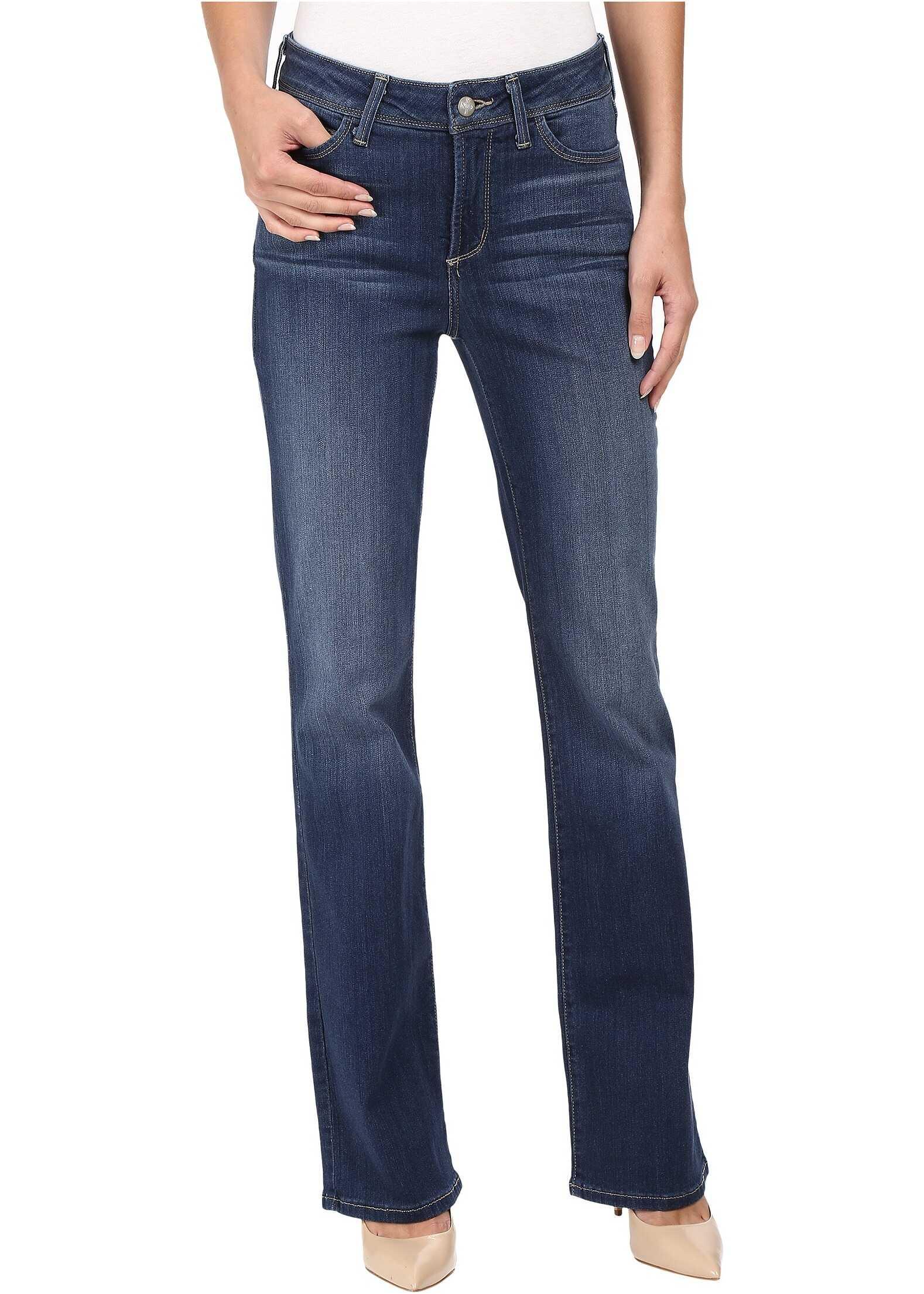 Blugi Femei Nydj Barbara Bootcut Jeans In Sure Stretch Denim Saint Veran Wash