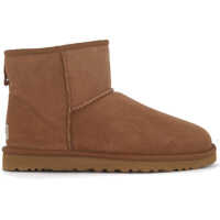 Ghete & Cizme Classic Ii Mini Boots In Brown Suede Barbati