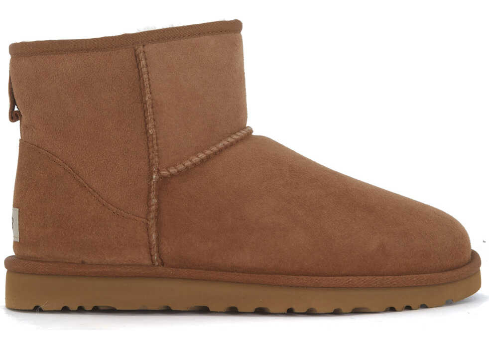 UGG Classic Ii Mini Boots In Brown Suede Brown