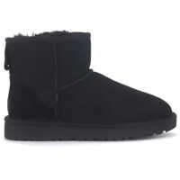 Ghete & Cizme Classic Ii Mini Ankle Boots In Black Suede Femei