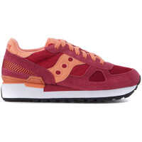 Sneakers Sneaker Saucony Shadow In Fuchsia And Pink Suede And Fabric Mesh Femei