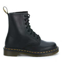 Ghete & Cizme Classic 8 Eyelet Black Boot Barbati