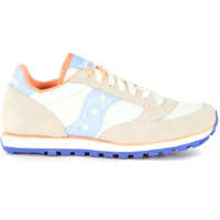 Tenisi & Adidasi Saucony Sneaker Saucony Low Pro In Grey And Indigo Suede And Fabric