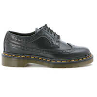 Pantofi Oxford Dr Martens Black Lace Up Brogue Shoes Femei