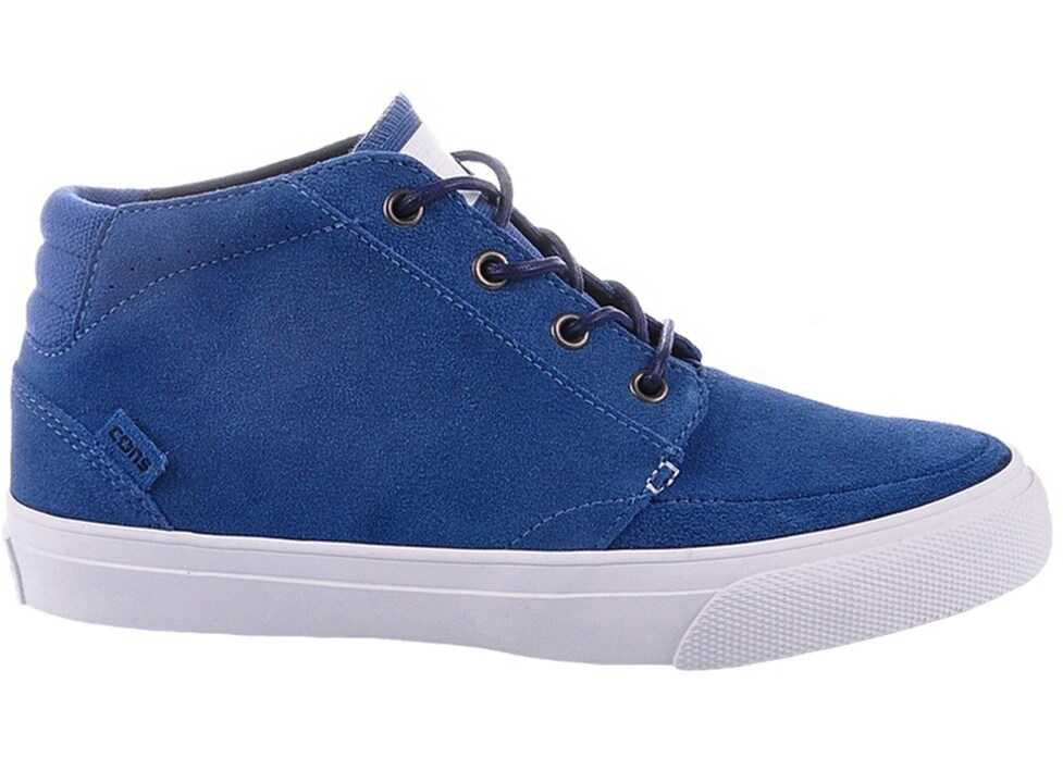 Converse Deck Star Mid Blue