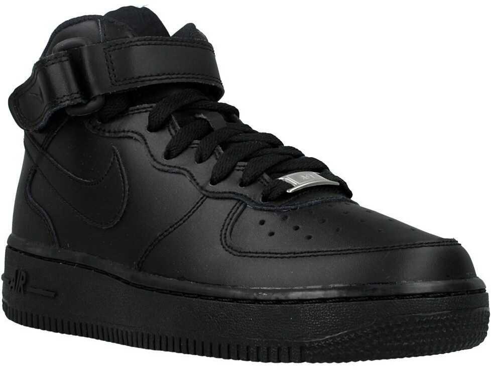 Nike Air Force 1 Mid GS Graphite,Black