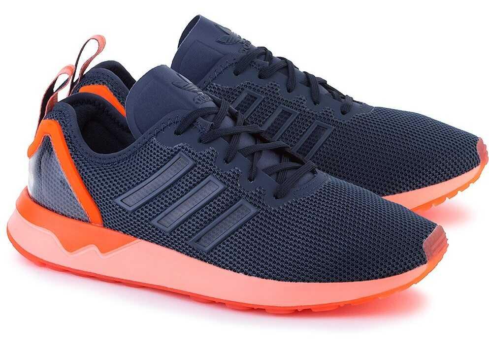 adidas ZX Flux Orange,Navy blue