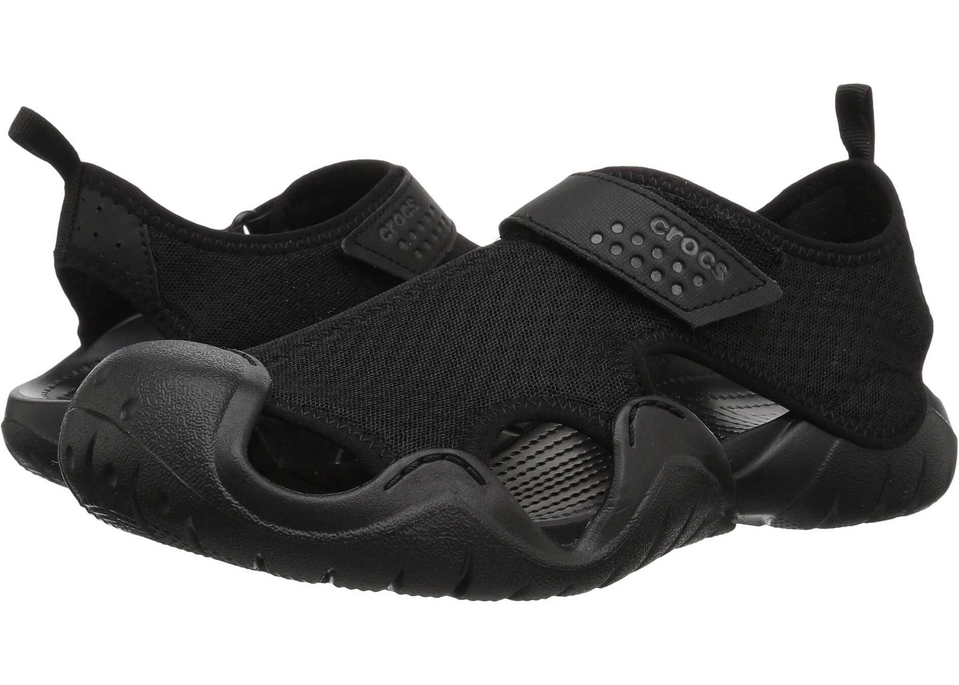 Crocs Swiftwater Sandal Black/Black