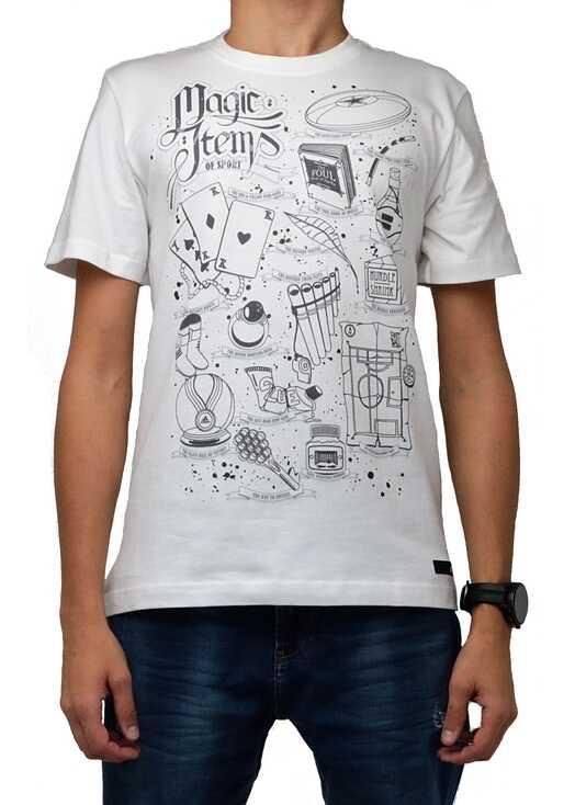 adidas T-shirt Magic Items White