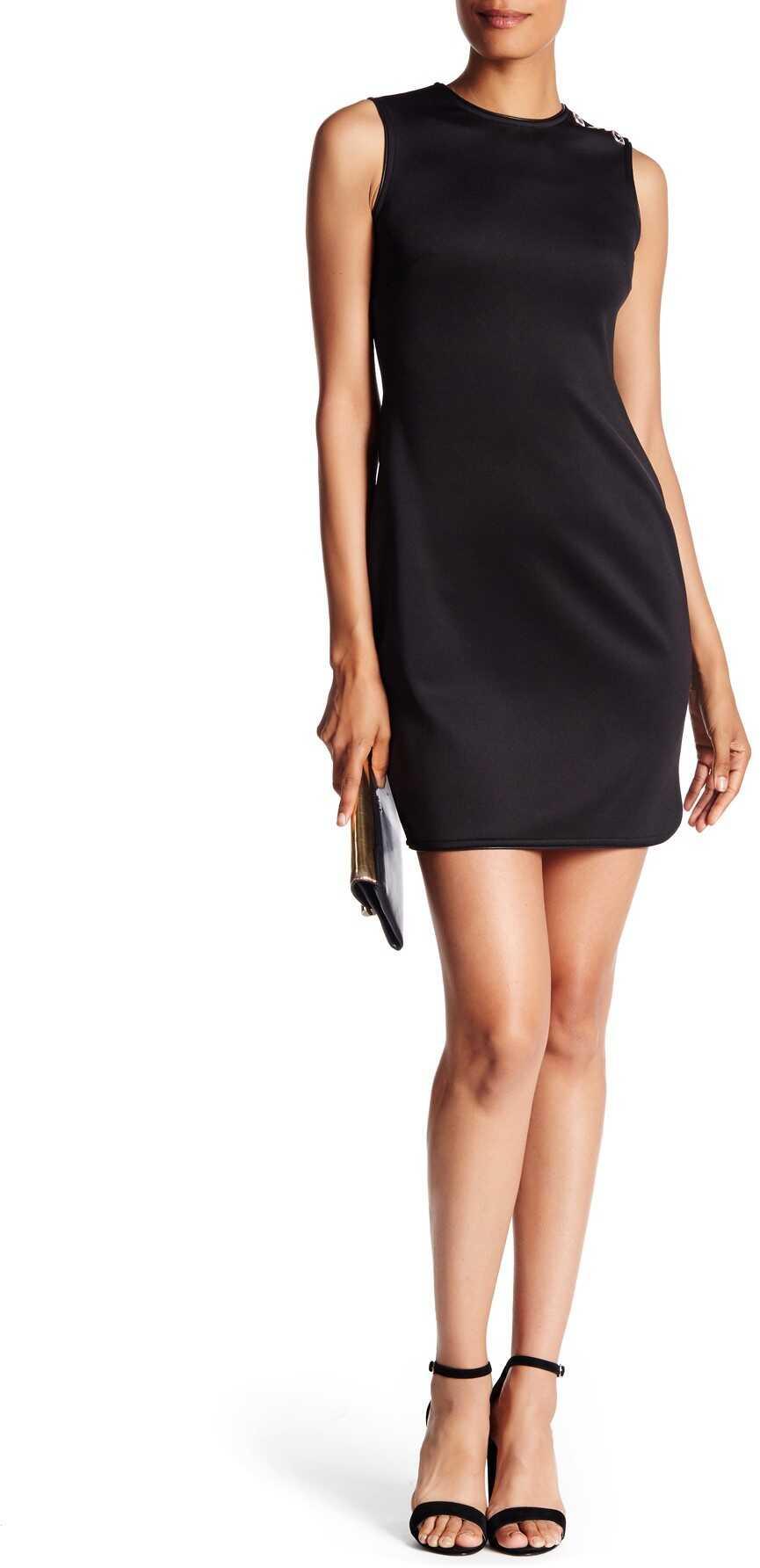 Marc New York Side Zip Sheath Dress* BLACK