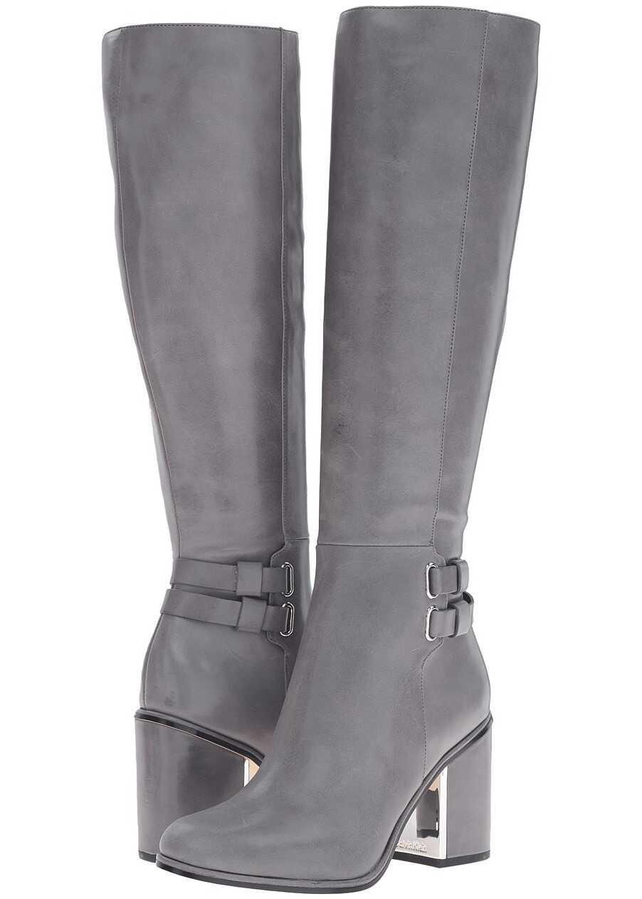 Calvin Klein Camie Shadow Grey Leather