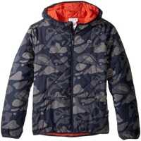 Geci de Puf Reversible Puffer Coat with All Over Camo Graphic (Little Kids/Big Kids) Baieti