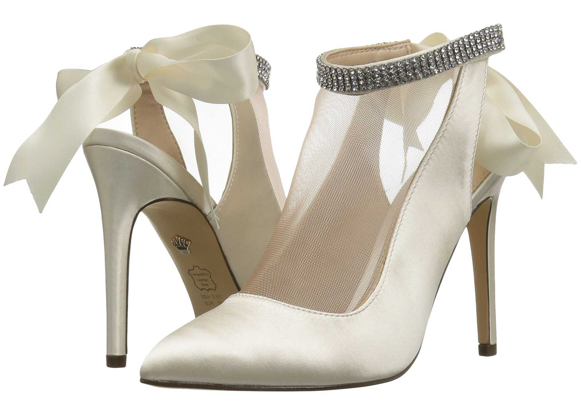 Pantofi Cu Toc Nina Rosana Ivory/champage