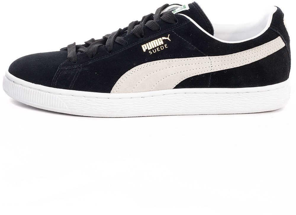 Puma Suede Classic 352634 03 Unisex Trainers In Black White-9 Uk* Black