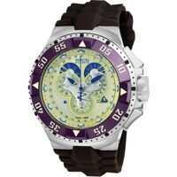 Ceasuri Fashion Excursion Reserve Chronograph Champagne Dial Brown  Polyurethane Mens* Barbati