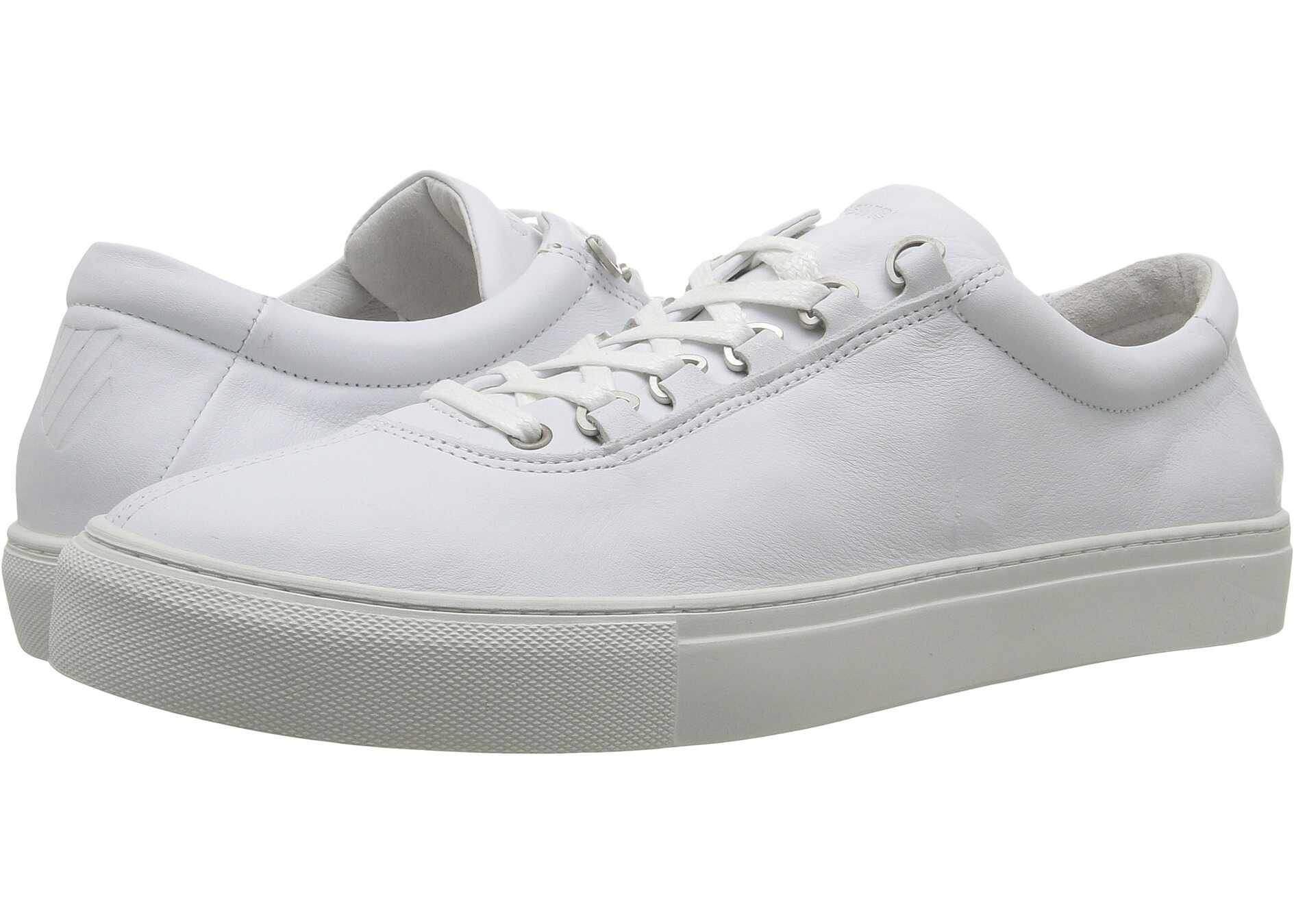 K-Swiss Court Classico White/Off-White Leather