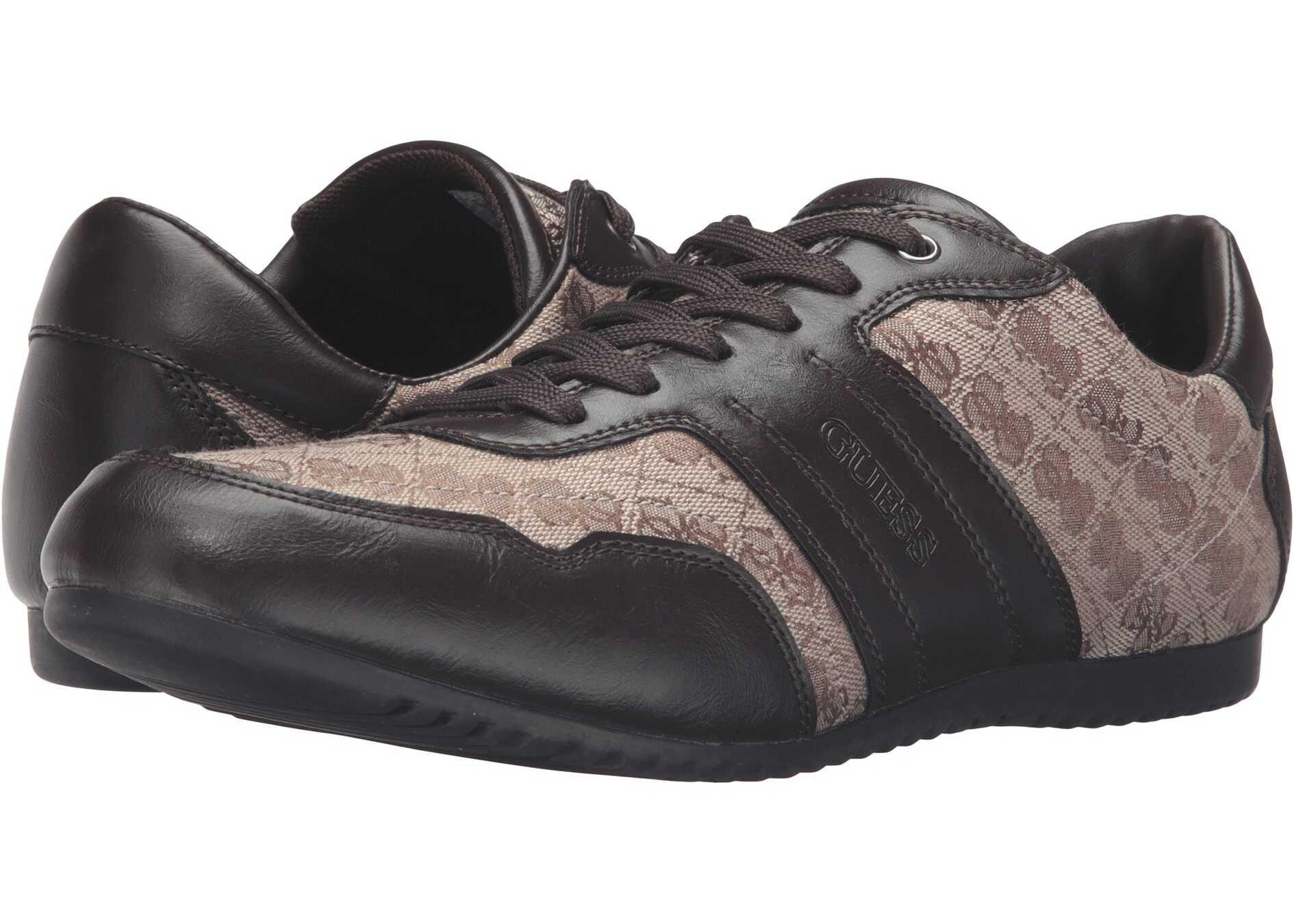 Pantofi Sport Barbati Guess Triston Light Brown Fabric