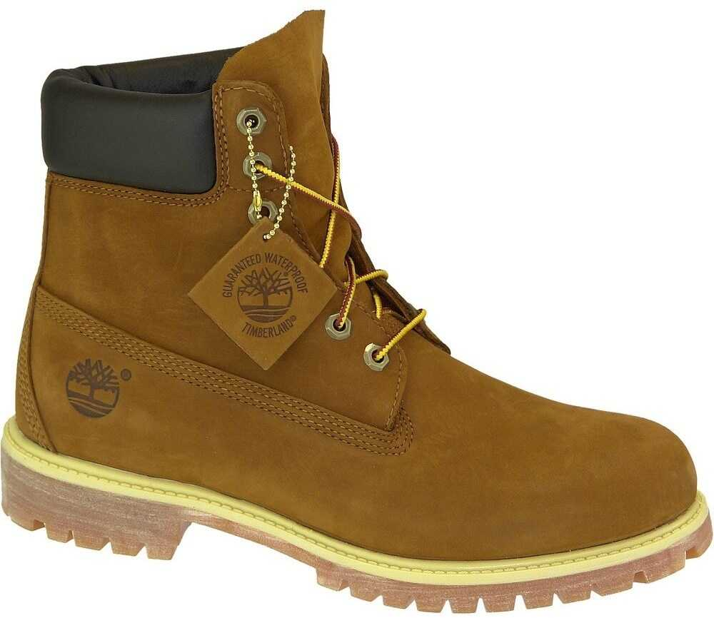 Timberland 6 Inch Prem Boot Rust Brown