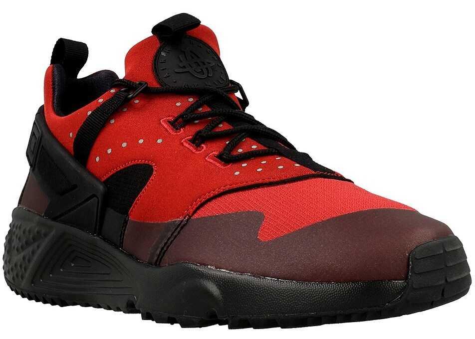 Nike Air Huarache Utility Negre/Roșii