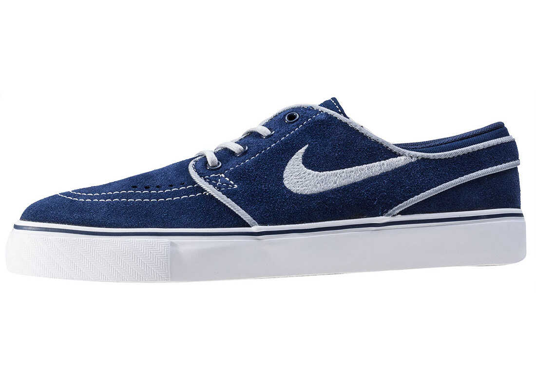 Nike SB Nike Skateboarding Stefan Janoski Gs Kids Trainers In Royal Blue Blue