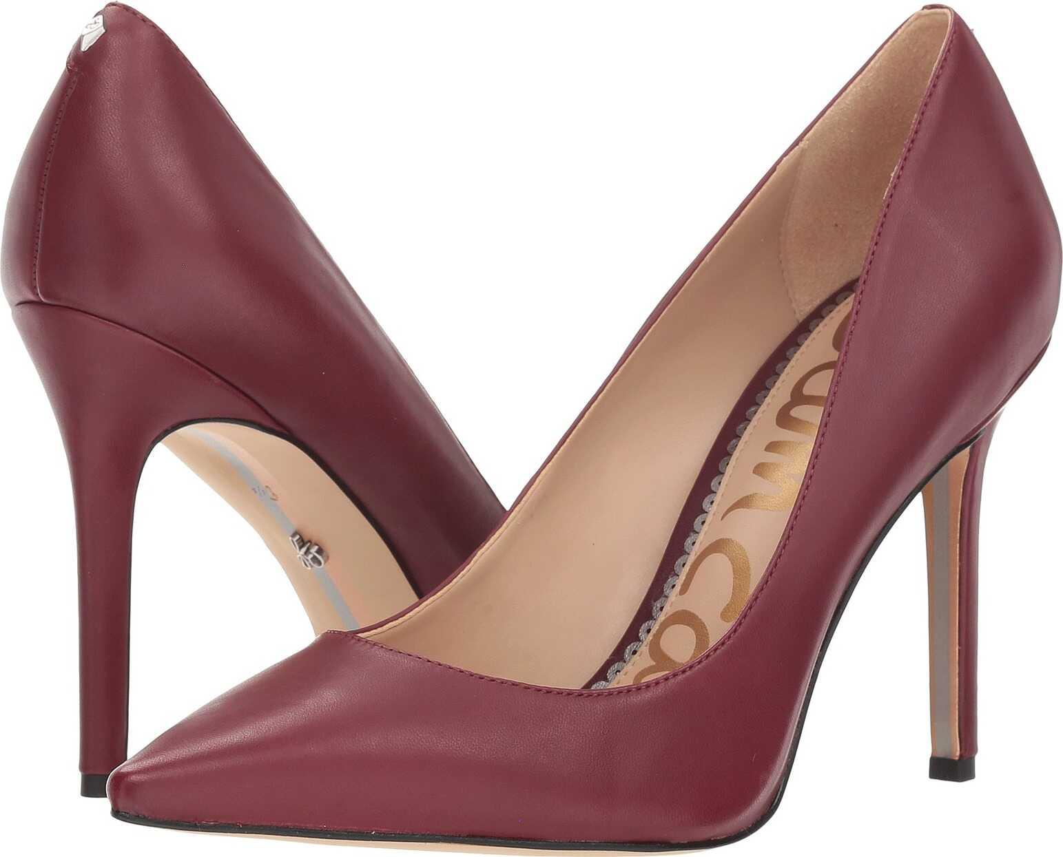 Sam Edelman Hazel Beet Red Dress Nappa Leather