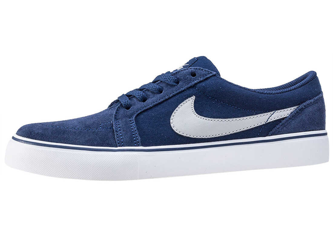 Nike SB Nike Skateboarding Satire Ii Junior Trainers In Blue Grey Blue