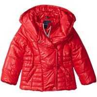 Geci Pillow Collar Puffer Jacket (Big Kids) Fete