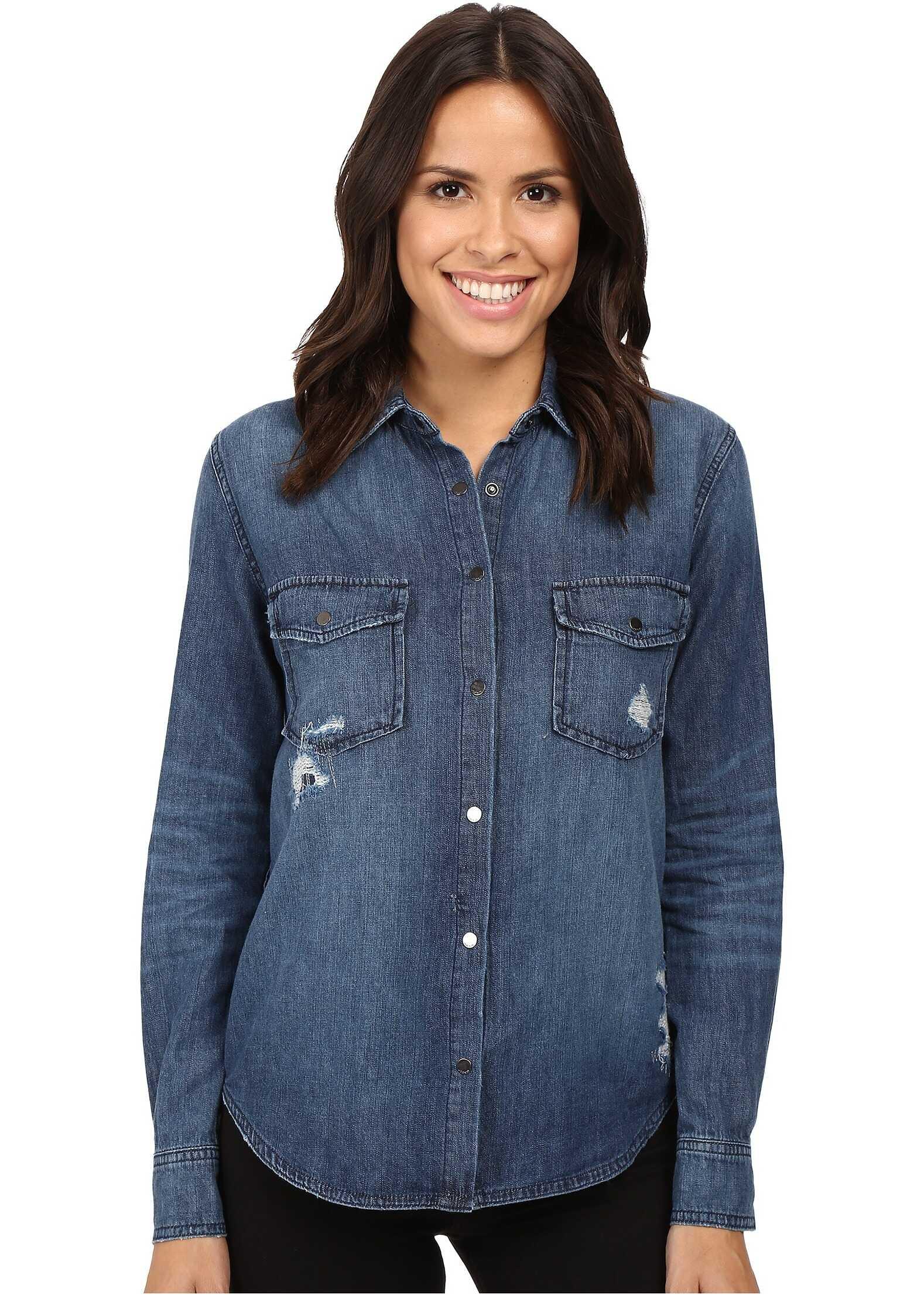 Joes Jeans Sloane Shirt Indigo