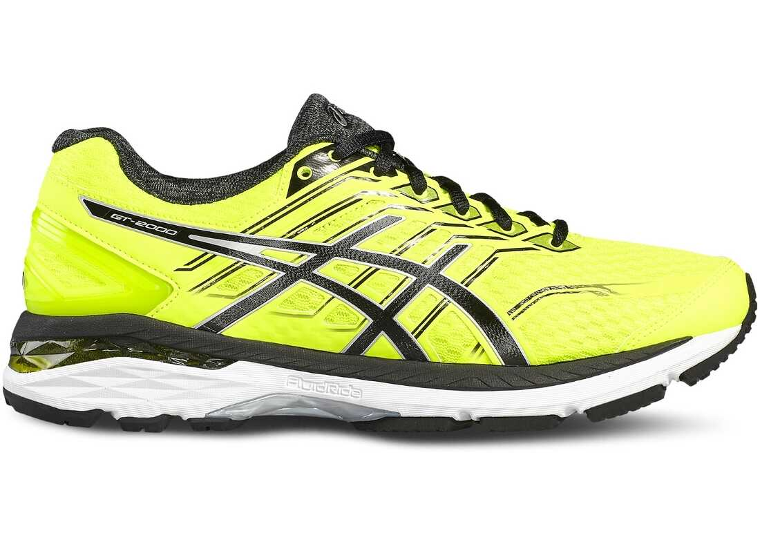 ASICS GT-2000 5 Black,Silver,Yellow