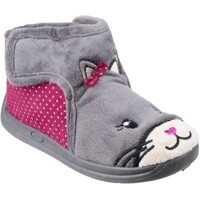 Papuci Kitty Touch Fastening Bootie Slipper Baieti